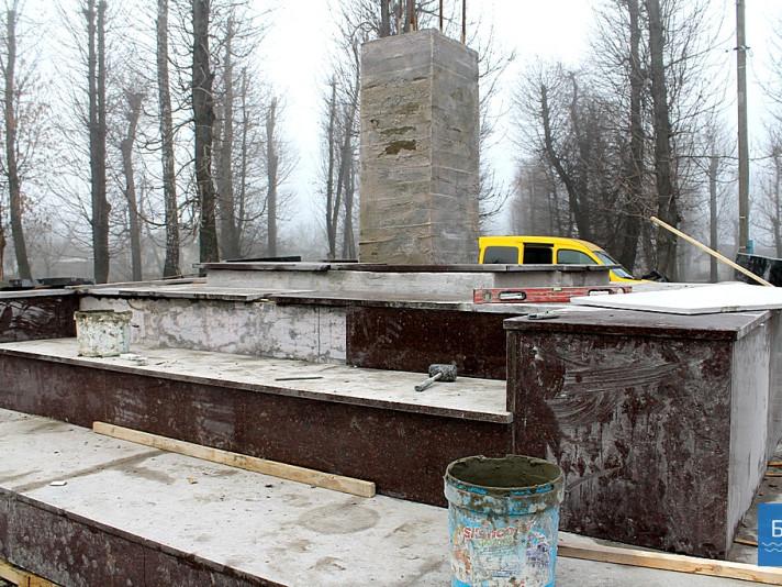 На Волині встановлюють пам'ятник Героям, які віддали життя за Україну