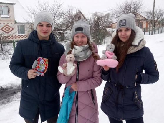 Молодь Литовезької громади влаштувала благодійну акцію
