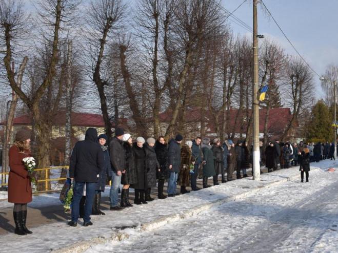 На Волині до Дня Соборності України утворили «ланцюг єдності»