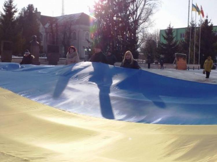 Волинська громада спільно молилась за Україну та її народ