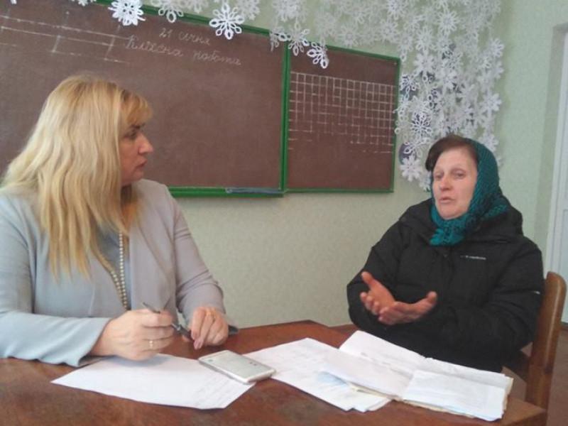 «Дивні» платіжки, субсидії та пенсії: що цікавить мешканців села Топилище