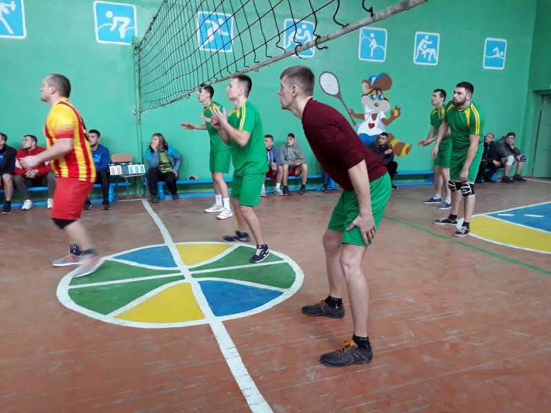 На Іваничівщині відбувся турнір з волейболу