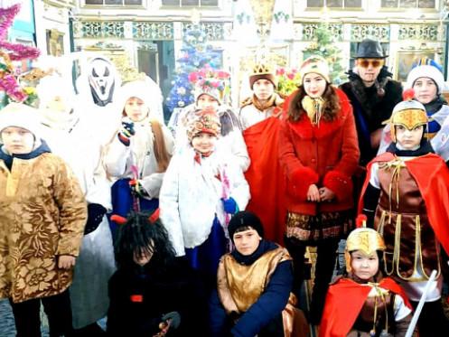 Діти з Волині віддали на ремонт храму наколядовані гроші