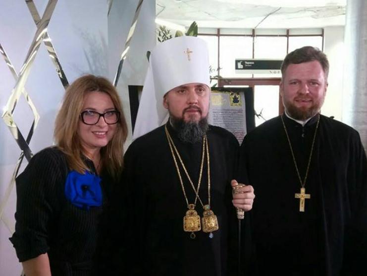 Віктор Мартиненко розсмішив владику Епіфанія