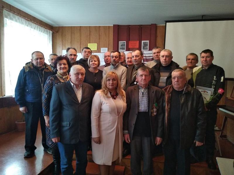 В Іваничах вшанували учасників бойових дій на території інших держав