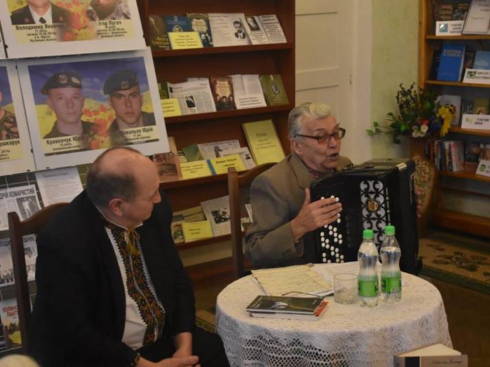 В Іваничах відбулася зустріч з талановитими митцями