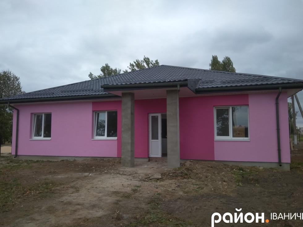 Садочок в селі Тополище