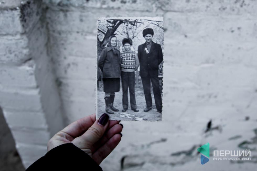 Богдан Коханський із сином Іваном