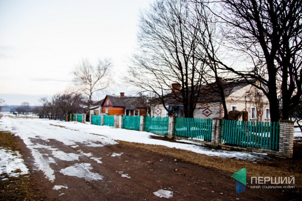 Хата, яку збудував у Грибовиці Богдан (Володя) Коханський і де жив весь свій вік