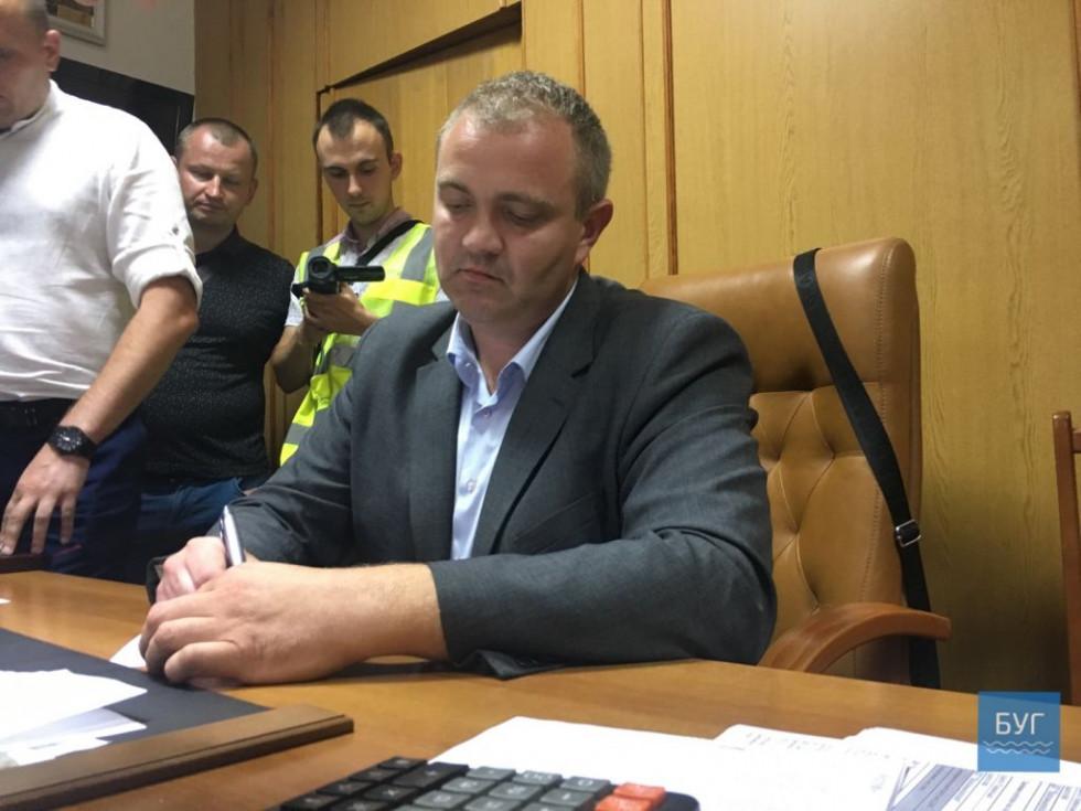 Генеральний директор «Волиньвугілля» Андрій Пилипюк. Фото з сайту bug.org.ua
