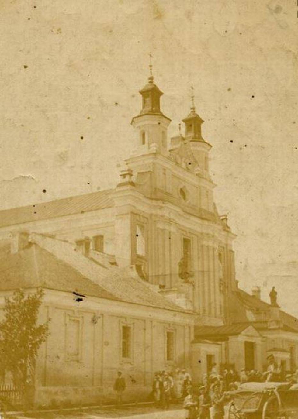 Костел в Порицьку, поч. ХХ ст