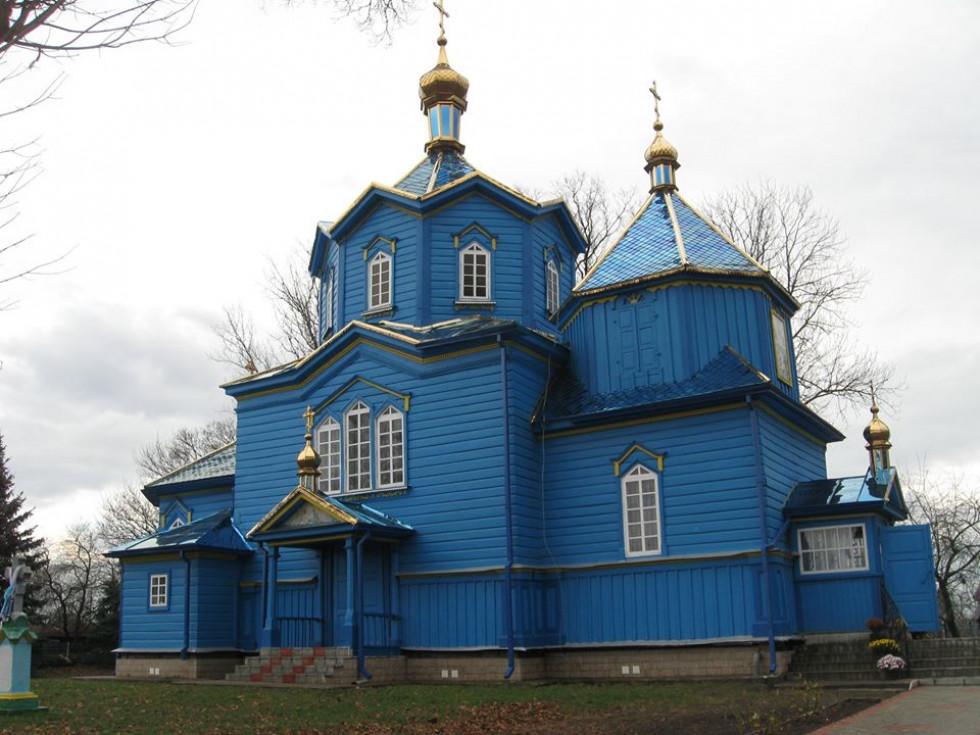 Покровська церква с. Поромів 1750 р.