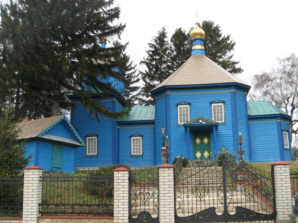 Миколаївська церква с. Жашковичі 1875 р.