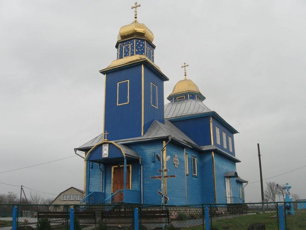 Михайлівська церква с. Біличі 1930 р.