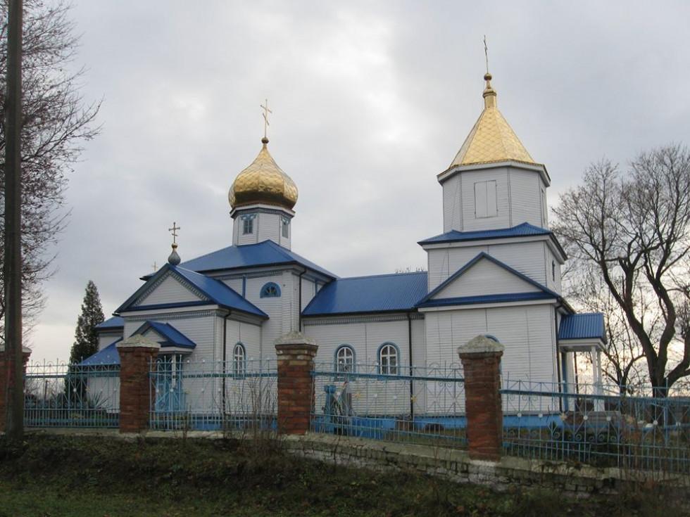 Введенська церква с. Литовеж 1791р.