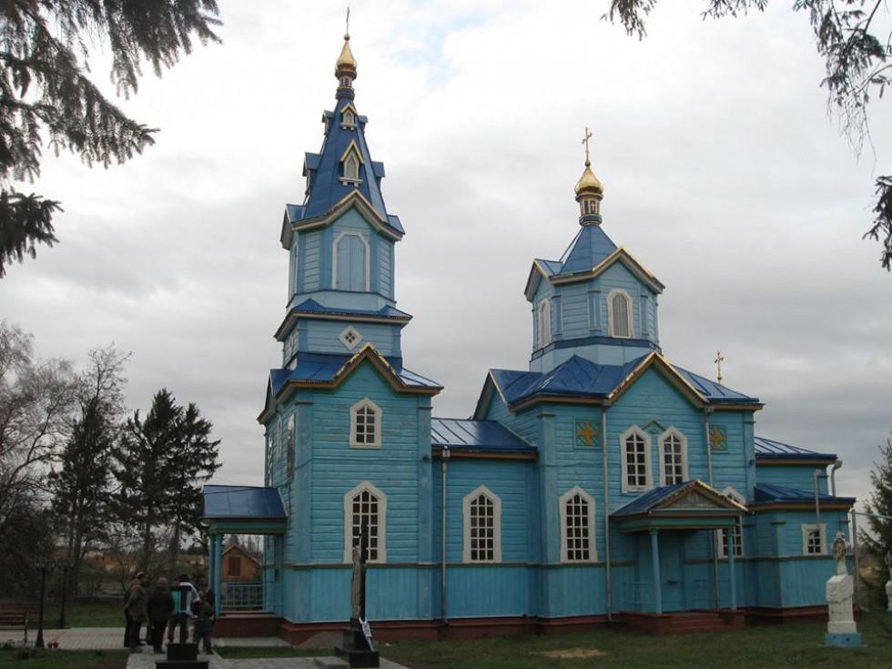 Михайлівська церква с. Топилище 1904 р.