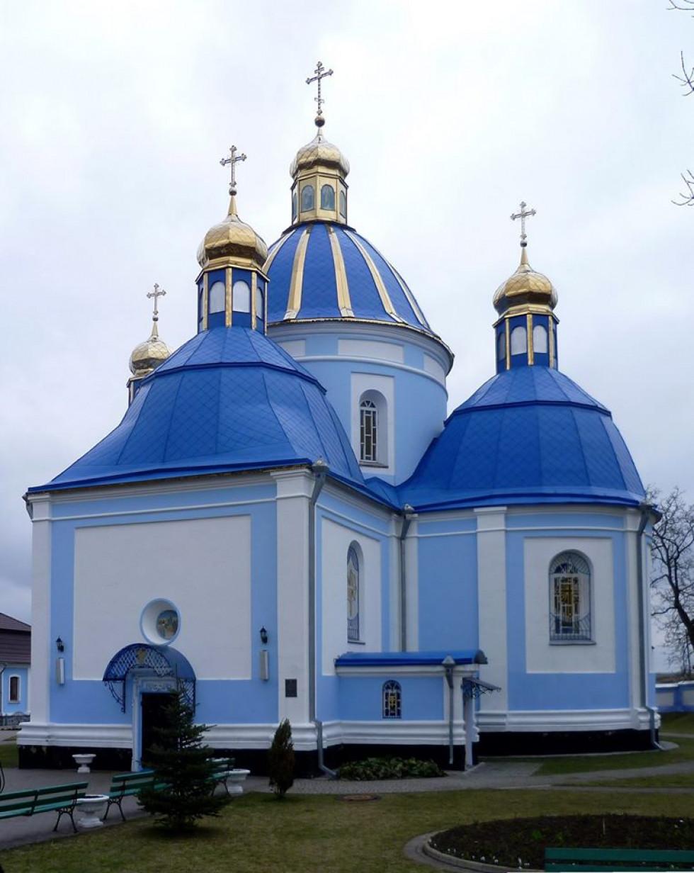 Успенська церква с. Низкиничі. ХVІІ ст.